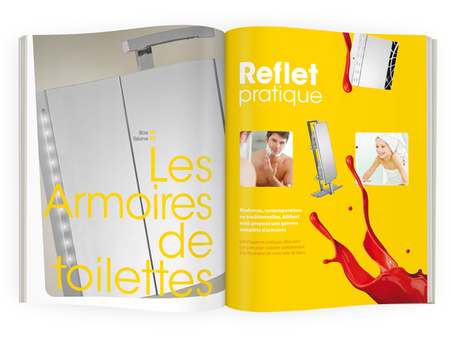 Catalogue salle de bain – ALLIBERT