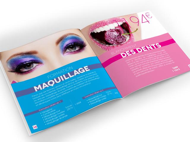 Brochure – Salon esthétique