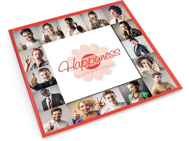 Création identité visuelle The HAPPYNESS Company