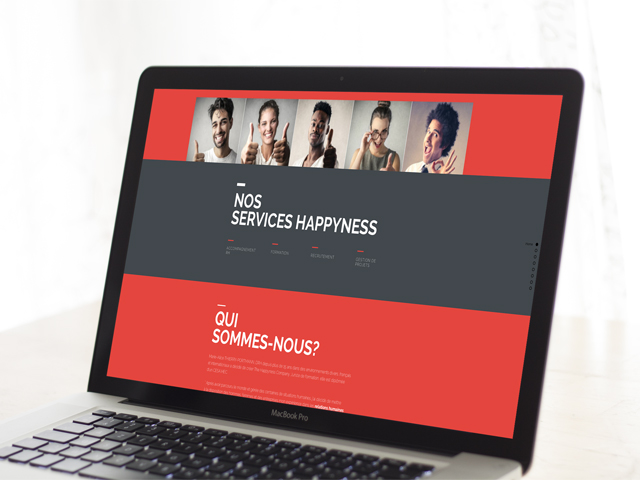 Site Web – The HAPPYNESS Company