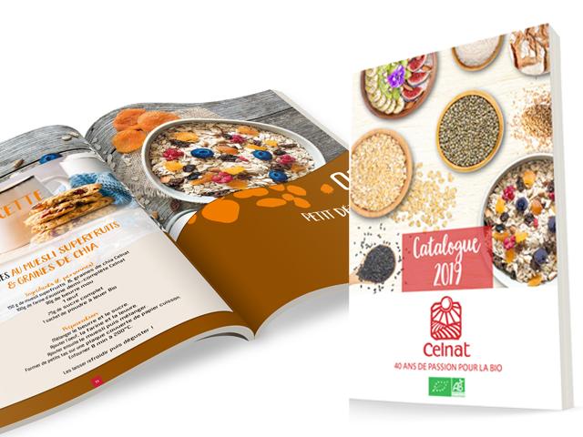 Création Catalogue Celnat 2019