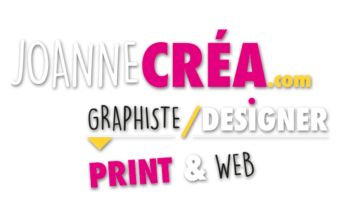 Logo Joanne Créa Graphiste designer print et web